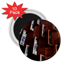 Abstract Architecture Building Business 2 25  Magnets (10 Pack)