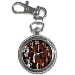Abstract Architecture Building Business Key Chain Watches
