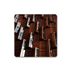 Abstract Architecture Building Business Square Magnet