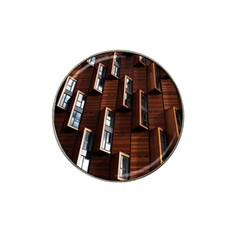 Abstract Architecture Building Business Hat Clip Ball Marker (4 Pack)