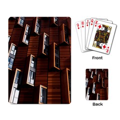 Abstract Architecture Building Business Playing Card