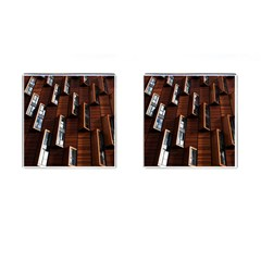Abstract Architecture Building Business Cufflinks (square)