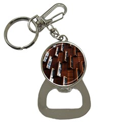 Abstract Architecture Building Business Button Necklaces