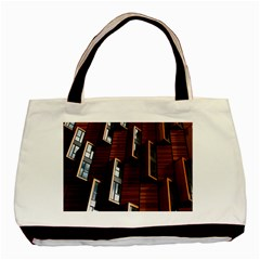 Abstract Architecture Building Business Basic Tote Bag