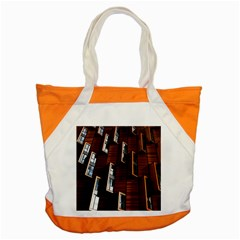 Abstract Architecture Building Business Accent Tote Bag