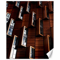 Abstract Architecture Building Business Canvas 16  X 20