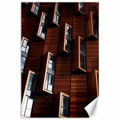 Abstract Architecture Building Business Canvas 24  X 36