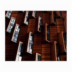 Abstract Architecture Building Business Small Glasses Cloth (2 Side)