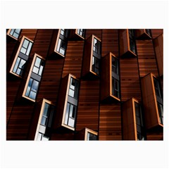 Abstract Architecture Building Business Large Glasses Cloth (2 Side)