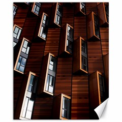 Abstract Architecture Building Business Canvas 11  X 14