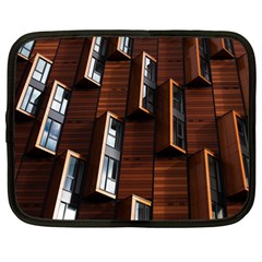 Abstract Architecture Building Business Netbook Case (large)