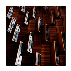 Abstract Architecture Building Business Face Towel