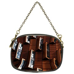 Abstract Architecture Building Business Chain Purses (one Side)