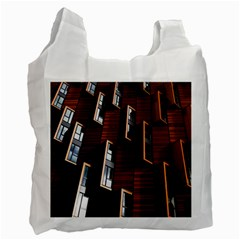Abstract Architecture Building Business Recycle Bag (one Side)