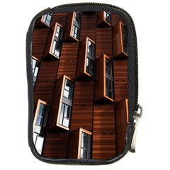 Abstract Architecture Building Business Compact Camera Cases