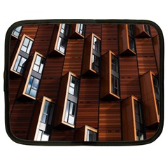 Abstract Architecture Building Business Netbook Case (xxl)