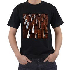 Abstract Architecture Building Business Men s T Shirt (black)