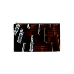 Abstract Architecture Building Business Cosmetic Bag (small)