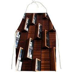 Abstract Architecture Building Business Full Print Aprons