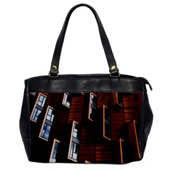 Abstract Architecture Building Business Office Handbags