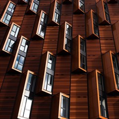 Abstract Architecture Building Business Magic Photo Cubes