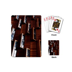 Abstract Architecture Building Business Playing Cards (mini)