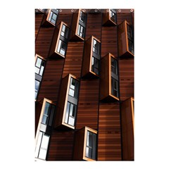 Abstract Architecture Building Business Shower Curtain 48  X 72  (small)