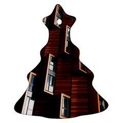 Abstract Architecture Building Business Ornament (Christmas Tree)