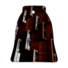 Abstract Architecture Building Business Bell Ornament (2 Sides)