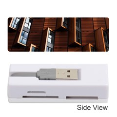 Abstract Architecture Building Business Memory Card Reader (stick)