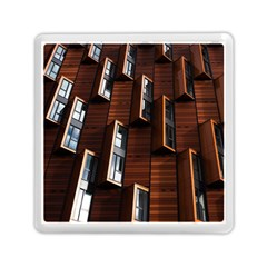 Abstract Architecture Building Business Memory Card Reader (square)