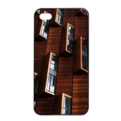 Abstract Architecture Building Business Apple Iphone 4/4s Seamless Case (black)