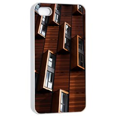 Abstract Architecture Building Business Apple Iphone 4/4s Seamless Case (white)