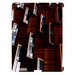 Abstract Architecture Building Business Apple Ipad 3/4 Hardshell Case (compatible With Smart Cover)