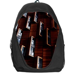 Abstract Architecture Building Business Backpack Bag