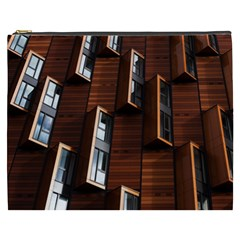 Abstract Architecture Building Business Cosmetic Bag (xxxl)