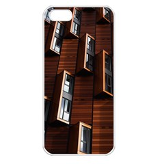 Abstract Architecture Building Business Apple Iphone 5 Seamless Case (white)