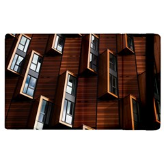 Abstract Architecture Building Business Apple Ipad 3/4 Flip Case