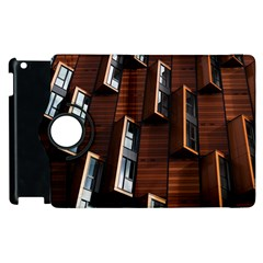 Abstract Architecture Building Business Apple Ipad 3/4 Flip 360 Case