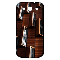 Abstract Architecture Building Business Samsung Galaxy S3 S Iii Classic Hardshell Back Case