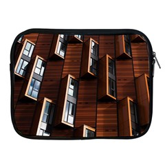 Abstract Architecture Building Business Apple iPad 2/3/4 Zipper Cases