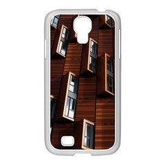 Abstract Architecture Building Business Samsung Galaxy S4 I9500/ I9505 Case (white)