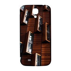 Abstract Architecture Building Business Samsung Galaxy S4 I9500/i9505  Hardshell Back Case