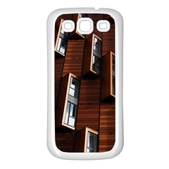 Abstract Architecture Building Business Samsung Galaxy S3 Back Case (white)