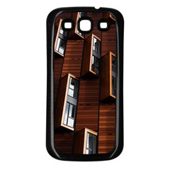 Abstract Architecture Building Business Samsung Galaxy S3 Back Case (black)