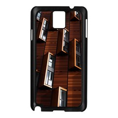 Abstract Architecture Building Business Samsung Galaxy Note 3 N9005 Case (black)