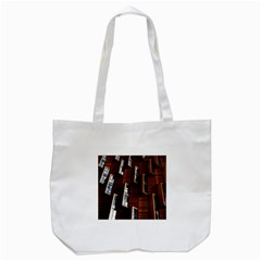 Abstract Architecture Building Business Tote Bag (white)