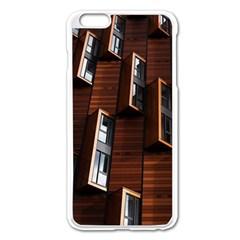 Abstract Architecture Building Business Apple Iphone 6 Plus/6s Plus Enamel White Case