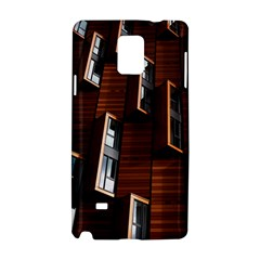 Abstract Architecture Building Business Samsung Galaxy Note 4 Hardshell Case