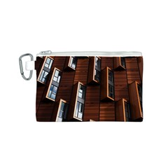 Abstract Architecture Building Business Canvas Cosmetic Bag (s)
